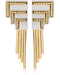 Monica Sordo Anuket Baby Earrings - Metallic