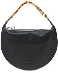 Versace レザーバッグ - ブラック