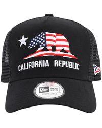 """KTZ Casquette """"California Trucker"""" - Noir"""