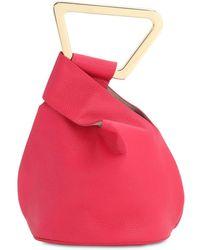 Cult Gaia Astraea Leather Top Handle Bag - Multicolour