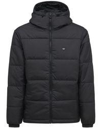 adidas Originals Куртка С Капюшоном - Черный
