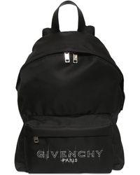 Givenchy ナイロンバックパック - ブラック