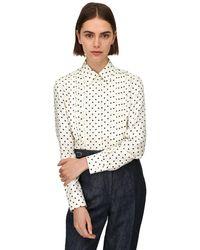Gabriela Hearst - Lvr Sustainable ツイルシャツ - Lyst