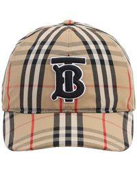 Burberry Клетчатая Бейсболка С Монограммой - Многоцветный