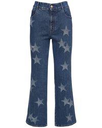Stella McCartney Eco Cropped Cotton - Blue