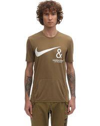"""Nike T-shirt Mit Tasche """"undercover Nrg"""" - Braun"""
