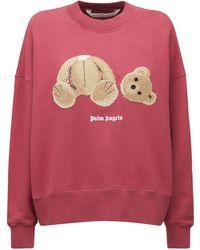 Palm Angels Bear コットンスウェットシャツ - マルチカラー