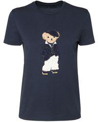 Ralph Lauren Collection コットンジャージーtシャツ - ブルー
