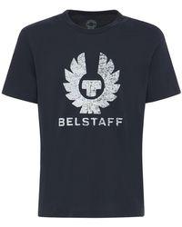 Belstaff Coteland 2.0 Cotton Jersey T-shirt - Blue