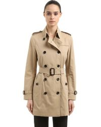 Burberry The Chelsea Mid-length Trench Coat - Natural