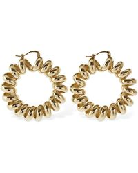 Etro Spiral Hoop Earrings - Metallic