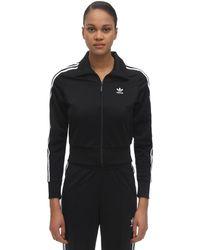 adidas Originals Firebird Striped Track Jacket - Black
