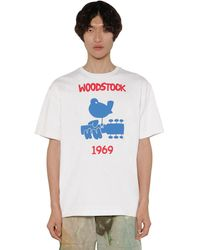 Moncler Genius Grenoble コットンジャージーtシャツ - ホワイト