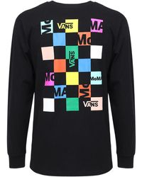 Vans X Moma コットンtシャツ - ブラック