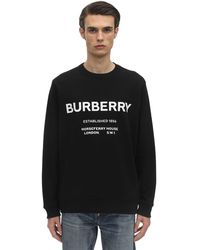 "Burberry Sweatshirt mit ""Horseferry""-Print - Schwarz"