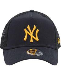 KTZ League Essential Trucker Ny Yankees キャップ - ブルー