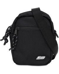 MSGM - Techno Crossbody Bag W/ Logo Patch - Lyst