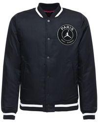 Nike Куртка Jordan Psg С Мягким Наполнителем - Черный