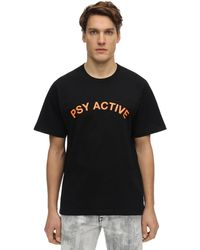 P.a.m. Perks And Mini Xeperience Psy Active コットンtシャツ - ブラック