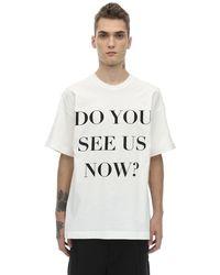 BOTTER コットンポプリンtシャツ - ホワイト