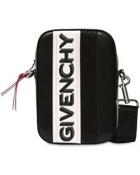 """Givenchy Sac À Bandoulière En Cuir """"Mc3"""" - Noir"""
