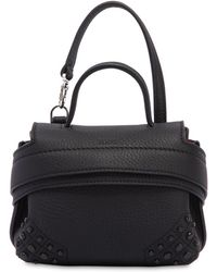 Tod's - Micro Wave Leather Bag Charm - Lyst