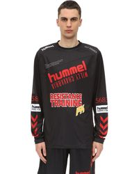 Hummel Willy Chavarria Karlsen ロングtシャツ - ブラック