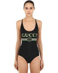 Gucci Maillot De Bain Imprimé - Multicolore