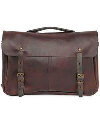 Bleu De Chauffe - Justin Handmade Leather Business Bag - Lyst