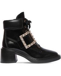 Roger Vivier Кожаные Ботинки 60мм - Черный