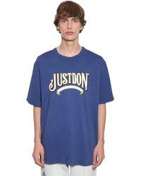 Just Don - コットンジャージーtシャツ - Lyst
