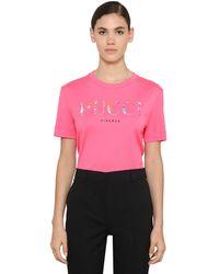 Emilio Pucci コットンジャージーtシャツ - ピンク