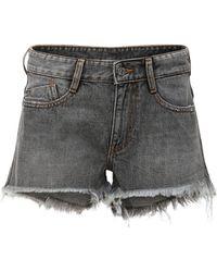 "DIESEL Shorts Aus Denim ""rifty"" - Grau"