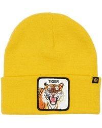 Goorin Bros Tiger Mouth Acrylic Beanie - Yellow