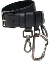 Dolce & Gabbana Кожаный Ремень 3cm - Черный