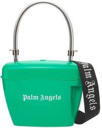 Palm Angels トップハンドルバッグ - グリーン