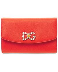 "Dolce & Gabbana Ledertasche ""dauphine"" - Orange"