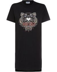 KENZO - Classic Tiger コットンtシャツドレス - Lyst