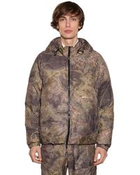 1017 ALYX 9SM Hooded Camouflage Techno Down Jacket - Multicolour