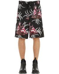 Prada - Shorts Mare In Nylon - Lyst
