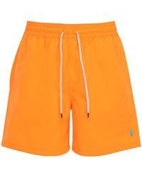 Polo Ralph Lauren ナイロン水着 - オレンジ