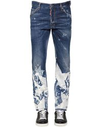 DSquared² - Cool Guy Big Stars Washed Jeans - Lyst