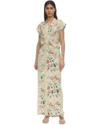 Colville Floral Print Viscose Dress - Mehrfarbig