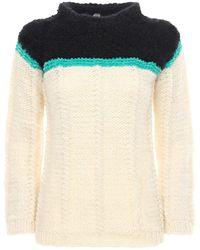 Gudrun & Gudrun Serpient Wool & Alpaca Sweater - White