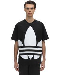 adidas Originals コットンジャージーtシャツ - ブラック