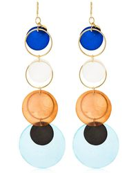 Missoni - Mother Of Pearl Pendant Earrings - Lyst