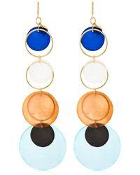 Missoni - Mother Of Pearl Pendant Earrings - Lyst
