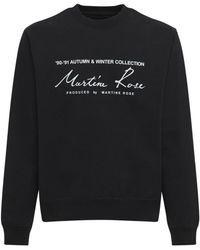 Martine Rose - コットンジャージースウェットシャツ - Lyst