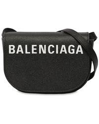 """Balenciaga Bolso """"xs Ville Day"""" De Piel - Negro"""