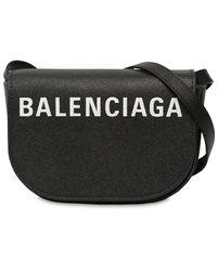 """Balenciaga Schultertasche Aus Leder """"xs Ville Day"""" - Schwarz"""
